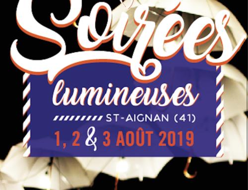Soirées lumineuses à Saint-Aignan (41)