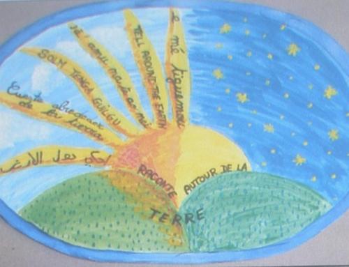 Raconte autour de la terre.. un projet d'Isabelle Gourdet