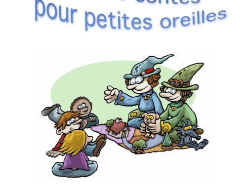 Séance conte pour petites oreilles le 7 avril à Brétigny