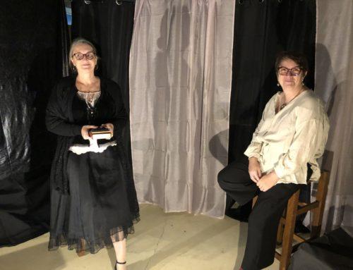 Le spectacle de Sylvie et Valérie à Arpajon