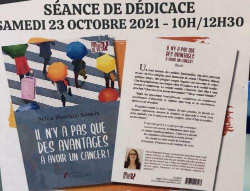 Sylvie  Blondelle Ronteix en dédicace…